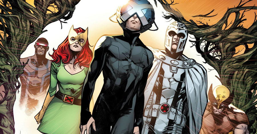Marvel reveals the covers for Hickman's first X-books