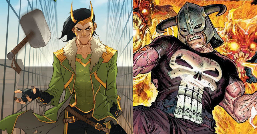 New Punisher, Loki titles to follow 'War of the Realms'