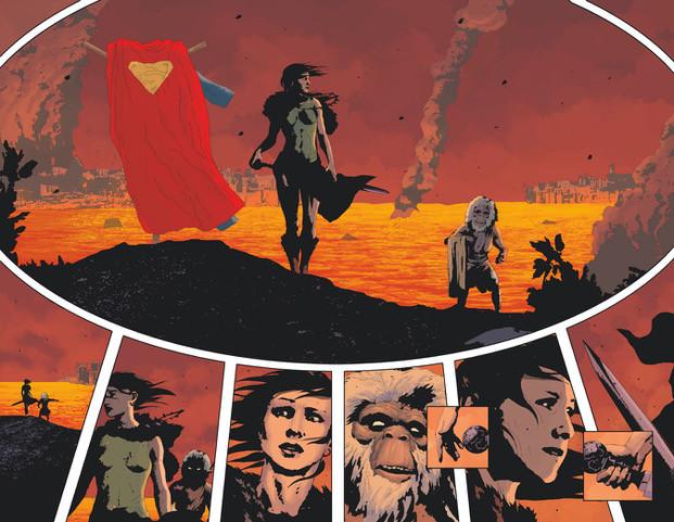 Legion of Super-Heroes: Millennium Kamandi by Andrea Sorrentino