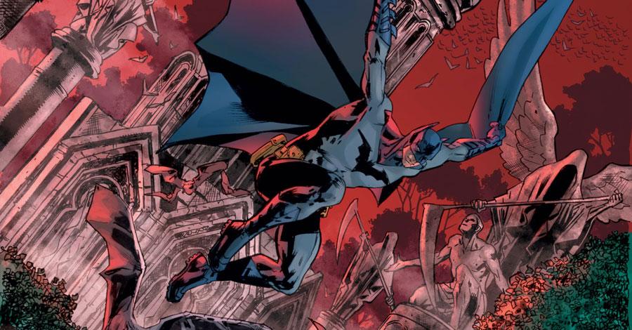 Ellis + Hitch reunite for 'Batman's Grave'