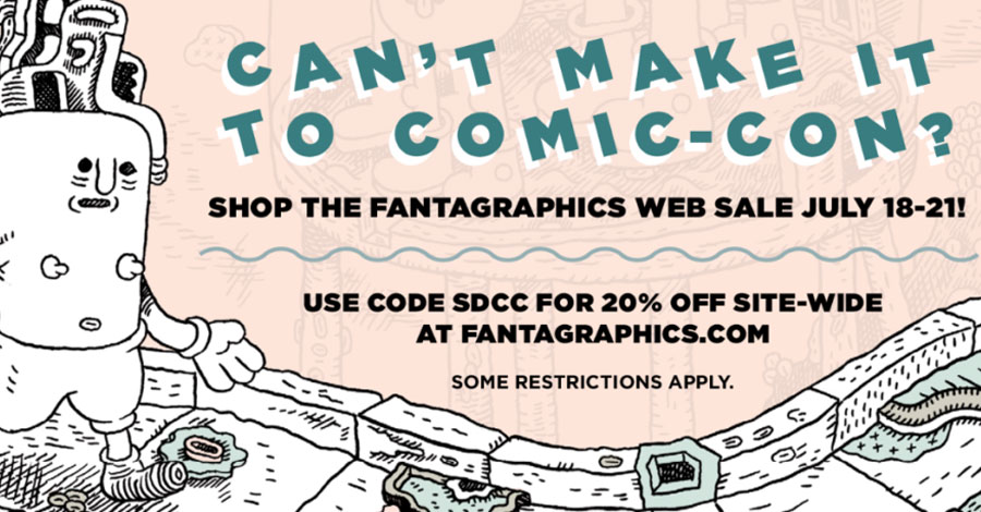 Not at SDCC? Fantagraphics has a consolation prize