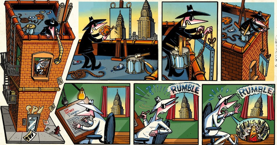 MAD Memories: Talking 'Spy vs. Spy' with Peter Kuper & John Ficarra