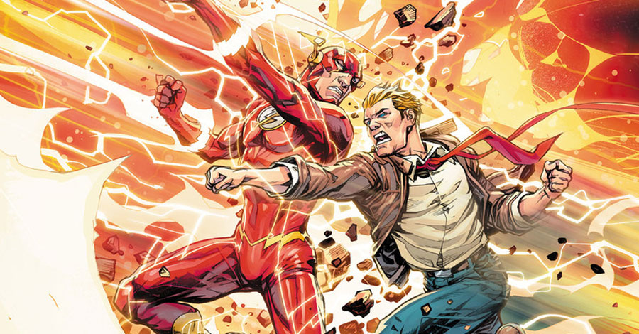 DC reveals details for 'Flash' #750