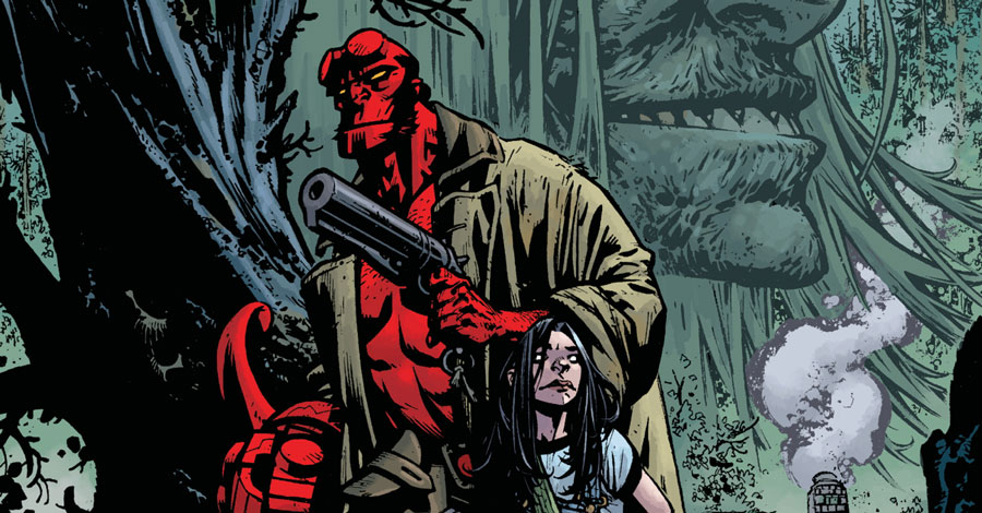 Mignola + Howard revisit 'The Crooked Man' in new Hellboy miniseries