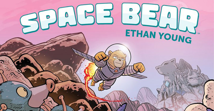 Ethan Young's 'Space Bear' blasts off from BOOM! next year