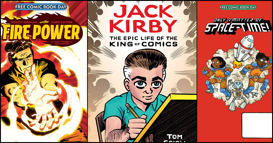 Vin Diesel, Tom Scioli, Jeffrey Brown and more highlight Free Comic Book Day 2020 offerings