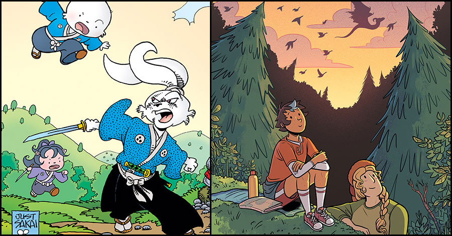 'Usagi,' 'Lumberjanes,' 'Stranger Things' and more round out silver Free Comic Book Day titles