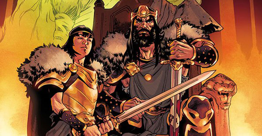 Hail to the king as Aaron, Asrar reteam for 'King Conan'