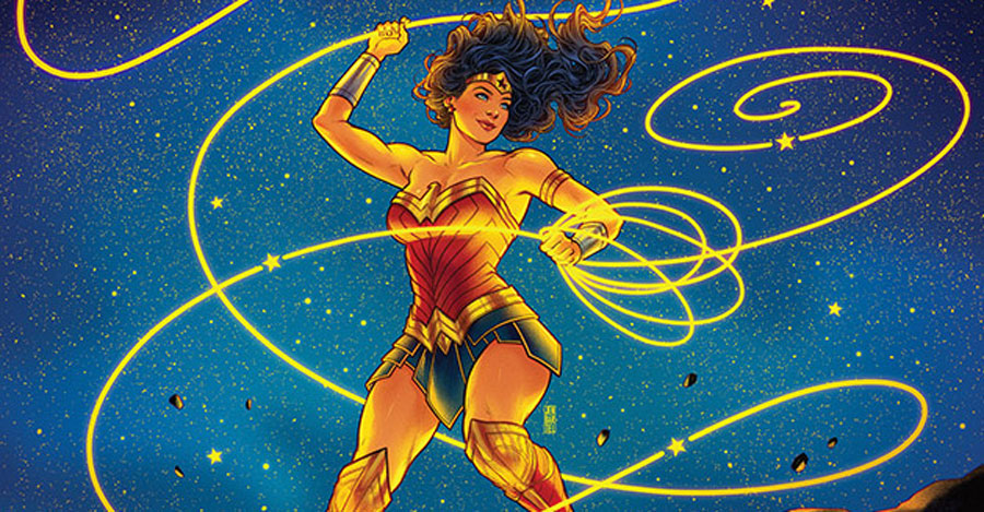 Jen Bartel covers this year's WonderCon program book