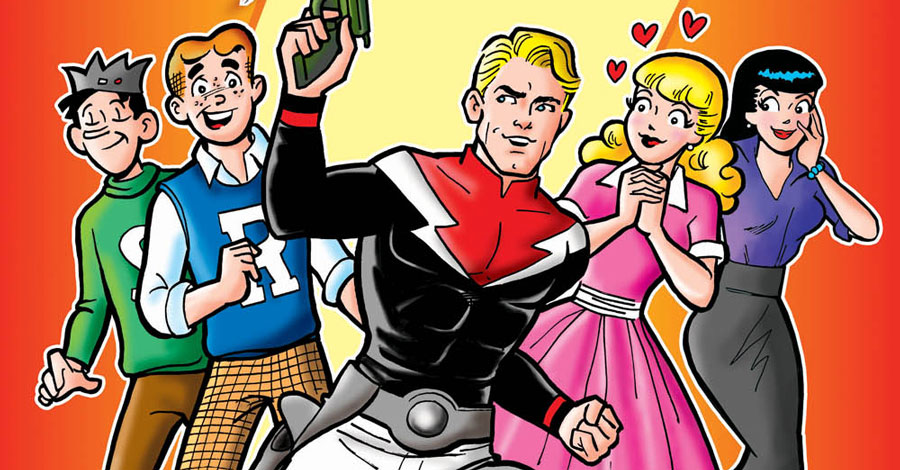 Worlds collide when Archie meets Flash Gordon in new one-shot