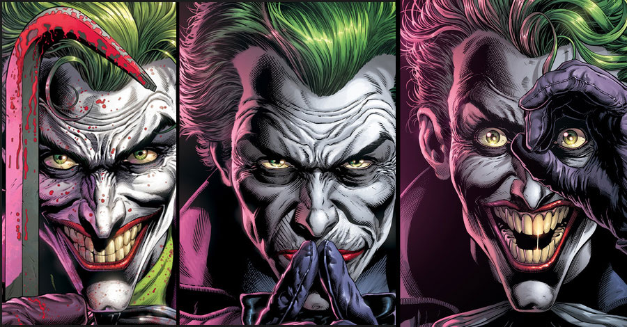 Johns + Fabok's 'Three Jokers' will arrive in August