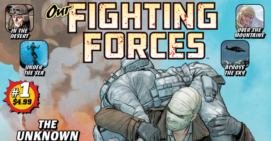 DC spotlights medal of honor recipient in 'Our Fighting Forces 100-Page Giant'