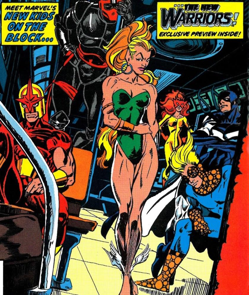 Marvel Age 89 - cover closeup