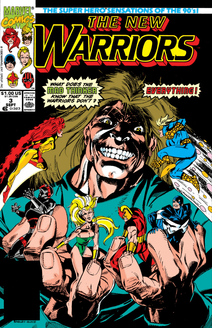 New Warriors 3 - cover
