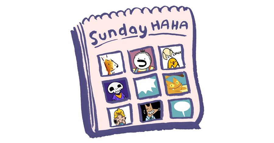 Sunday Comics: Sunday Haha delivers kids comics to your inbox