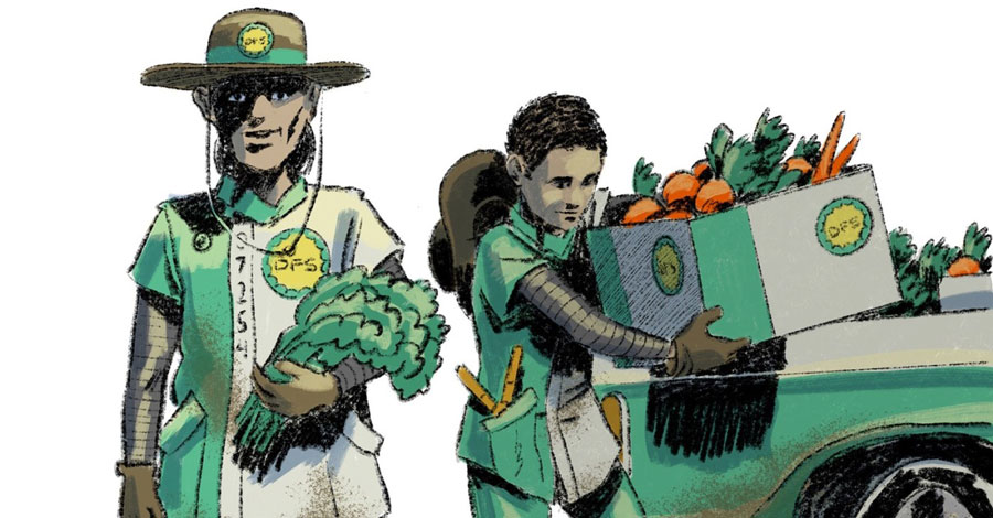 Sunday Comics | Ezra Claytan Daniels designs 'new agencies that serve and protect'