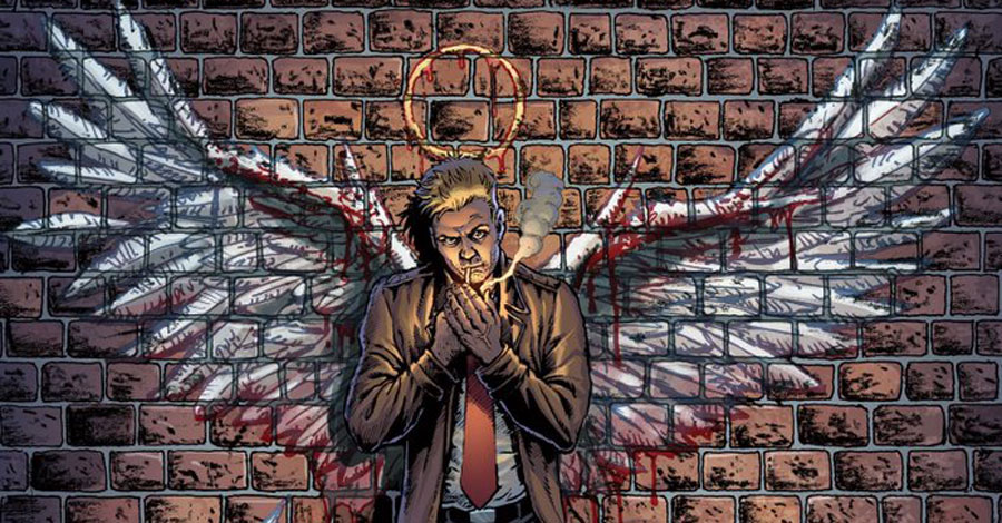 Taylor + Robertson have a 'twisted' John Constantine story coming in September