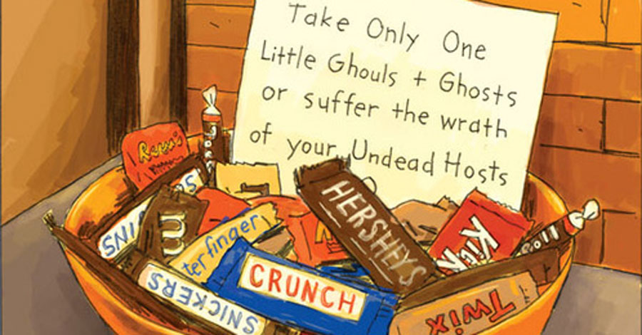 Sunday Comics | Leftover Halloween candy