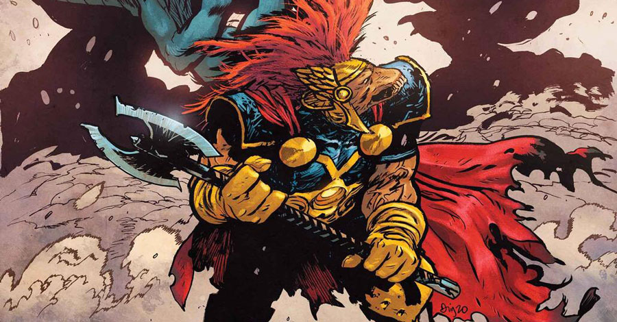 Daniel Warren Johnson will write and draw a new 'Beta Ray Bill' miniseries