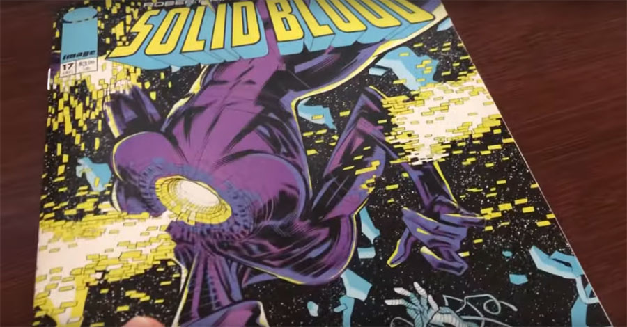 Out of thin air, Kirkman + Ottley's 'Solid Blood' #17 arrives in comic shops this week