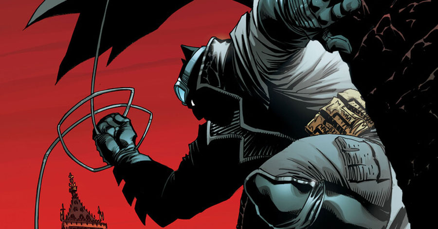 'Hardened and thick' Batman heads to Europe in 'Batman: The Dark Knight' miniseries