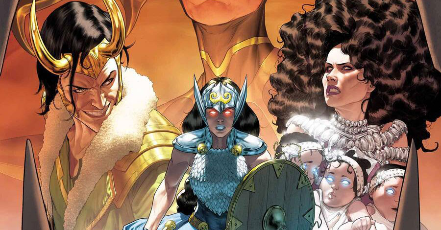 Jane Foster soars again in 'The Mighty Valkyries'