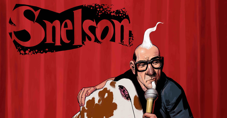 AHOY announces the new comedy series 'Snelson: Comedy is Dying'