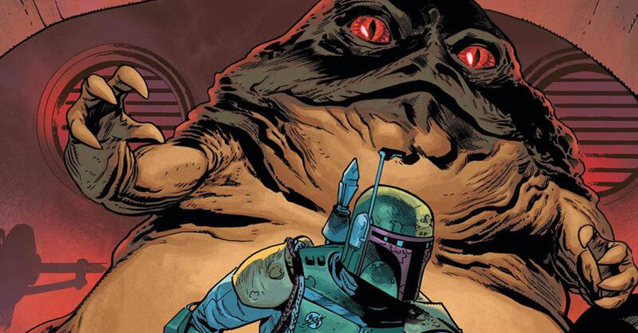 Jabba the Hutt gets his own 'War of the Bounty Hunters' tie-in comic