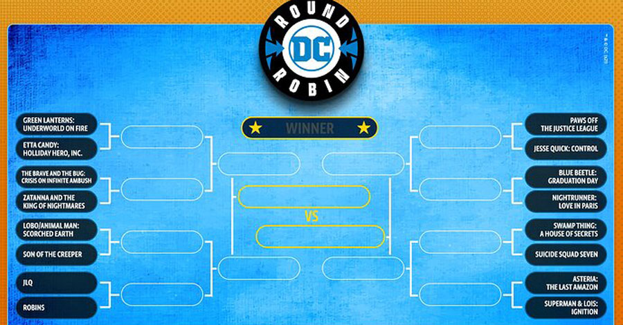 DC wants your help in picking its next series