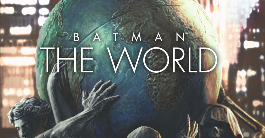 International artists interpret the Dark Knight in 'Batman: The World' hardcover
