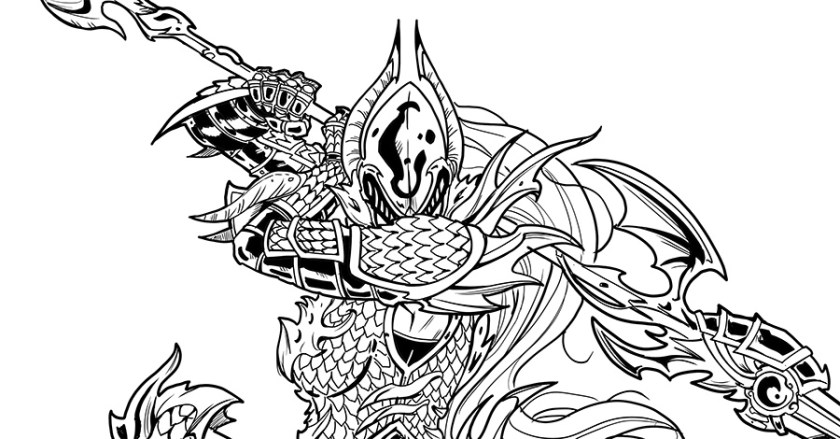 Foam Armory Dragoon Warrior