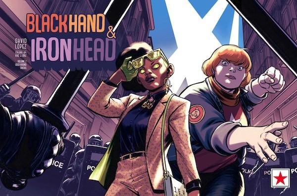 Cover of BlackHand & IronHead vol. 2