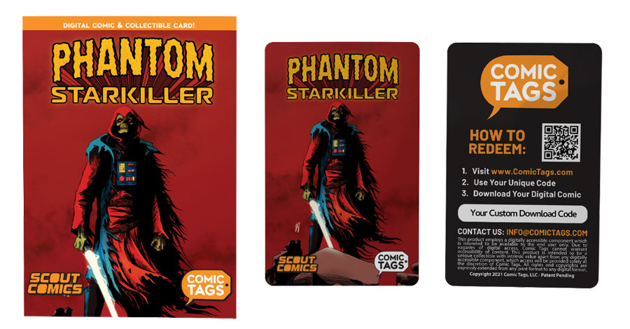 Mail Call | Scout Comics combines trading cards + digital comics with Comic Tags