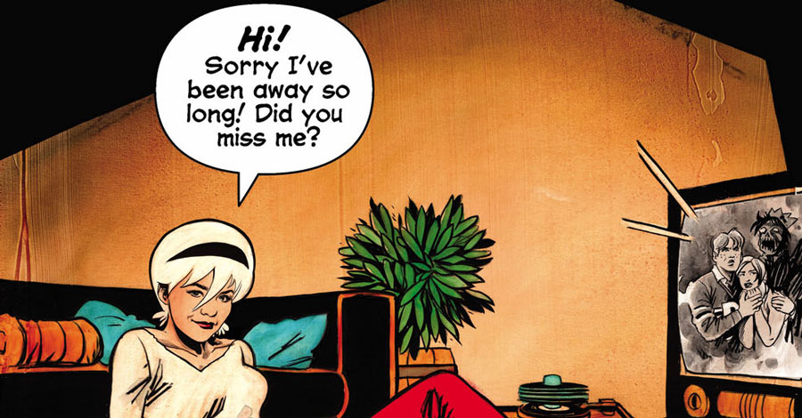 Archie Comics announces two Sabrina projects
