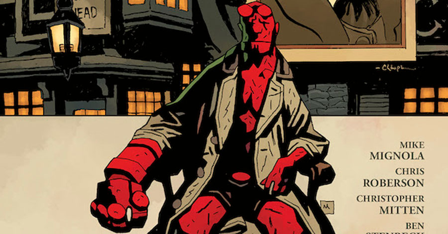 'The Silver Lantern Club' puts the spotlight on those who came before Hellboy