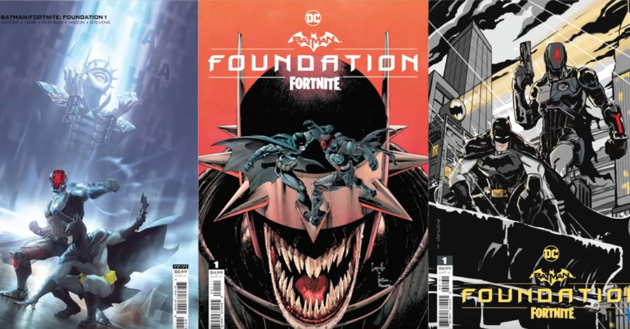 'Batman/Fortnite: Foundation' will include The Batman Who Laughs skin for Fortnite