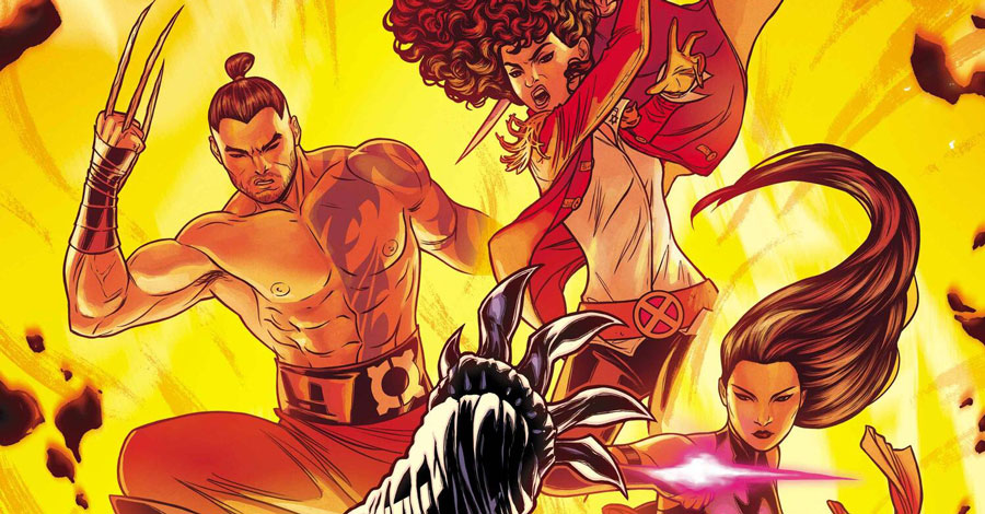 Steve Orlando takes the helm of 'Marauders' in January
