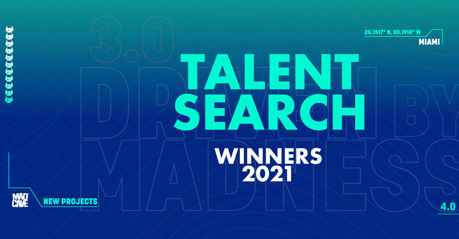 Mad Cave announces their 2021 talent search winners
