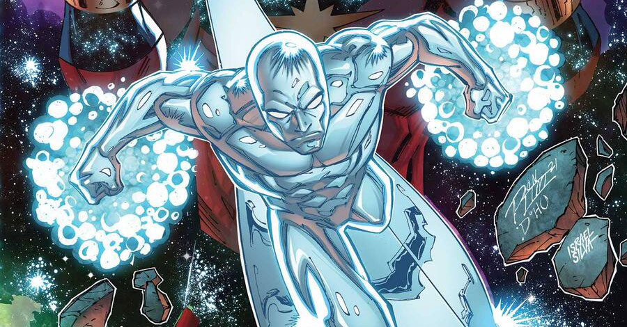 Marz + Lim surf back to the past for 'Silver Surfer: Rebirth'