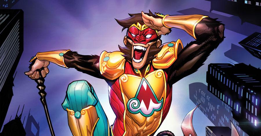 Yang + Chang bring the Monkey Prince back to comics next year