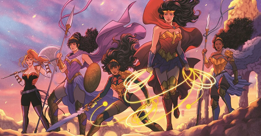 DC announces 'Trial of the Amazons'