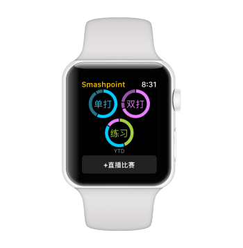 Smashpoint Apple Watch Chinese