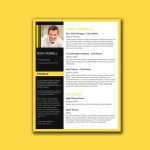 Stylish Word Resume