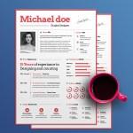 Simple Designer Resume