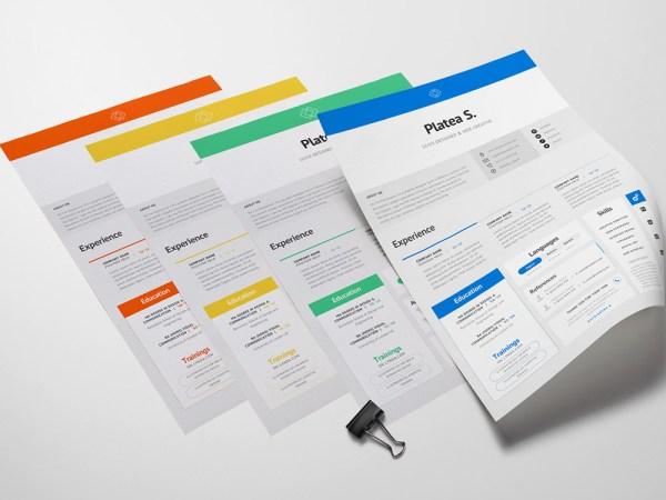 Free Elegant Resume Template with Premium Design
