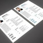 Minimal Resume With Portfolio