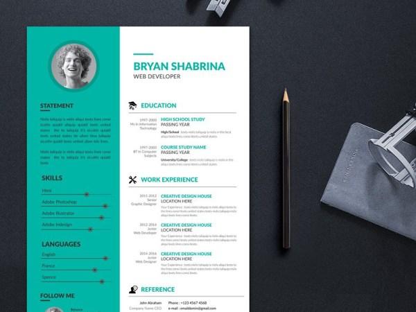 Shabrina Resume Template
