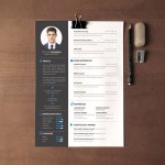 Sharp CV Template