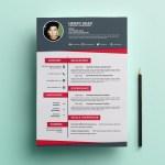 Flat Creative Resume