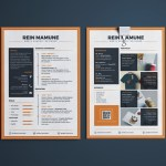Minima Resume Template